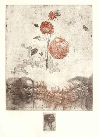 Engraving Anderlê - Vanitas V (1983)