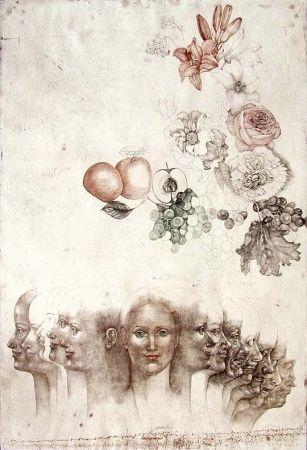 Engraving Anderlê - Vanitas VIII (1983)