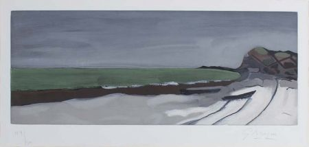 Etching And Aquatint Braque - Varengeville,1955