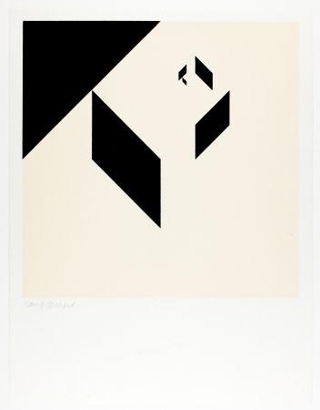 Woodcut Bosshard - Variation 1