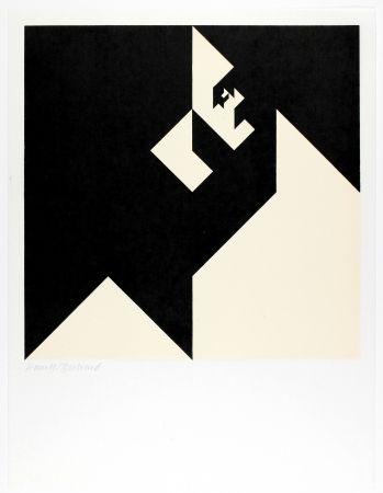Woodcut Bosshard - Variation 10