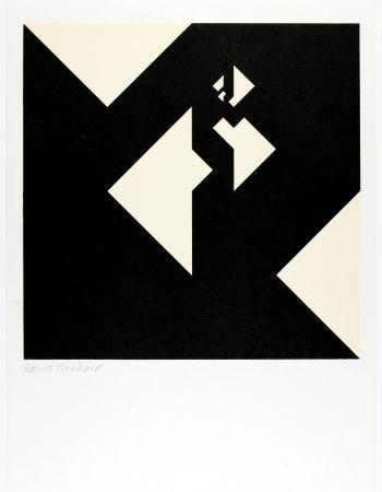 Woodcut Bosshard - Variation 12