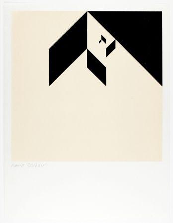 Woodcut Bosshard - Variation 2