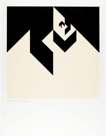 Woodcut Bosshard - Variation 6