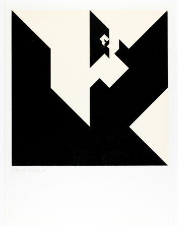 Woodcut Bosshard - Variation 8
