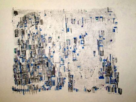 Lithograph Vieira Da Silva - Variations