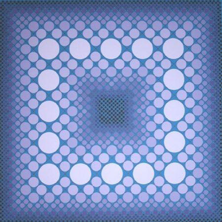 Screenprint Vasarely - Vasa T4, ca