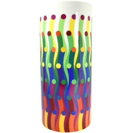 Ceramic Le Parc - Vase surface colorée
