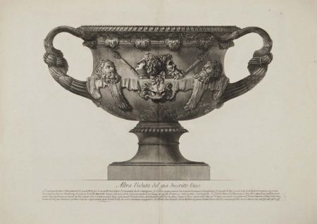 Etching Piranesi - Vaso