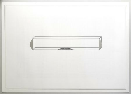 Lithograph Piacentino - Vehicle sculpture. Wall sculpture (c)