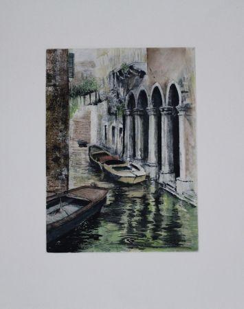 Etching And Aquatint Schibli - Venedig / Venice