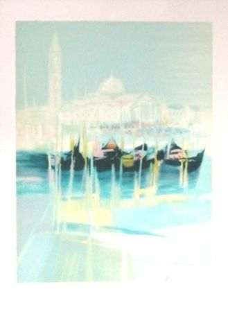 Lithograph Hemeret  - Venise
