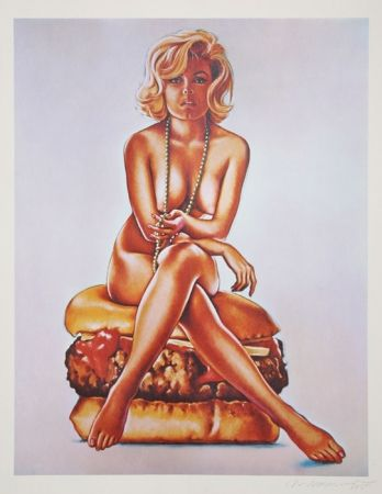 Lithograph Ramos - Verna Burger