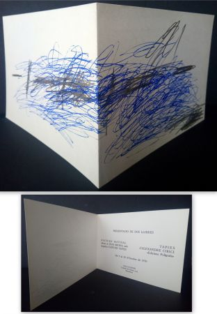 Offset Tàpies - Vernissage Presentation Book Nocturn Matinal Sala Gaspar