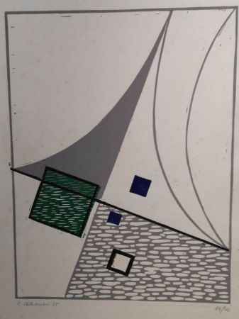 Lithograph Veronesi - VERONESI