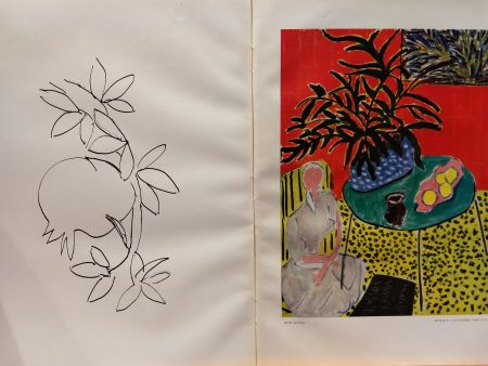 Illustrated Book Matisse - Verve 21 22