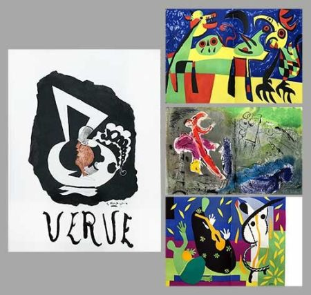 Illustrated Book Chagall - Verve 27 28