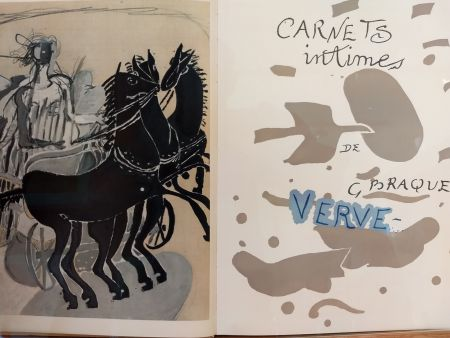 Illustrated Book Braque - Verve 31 32