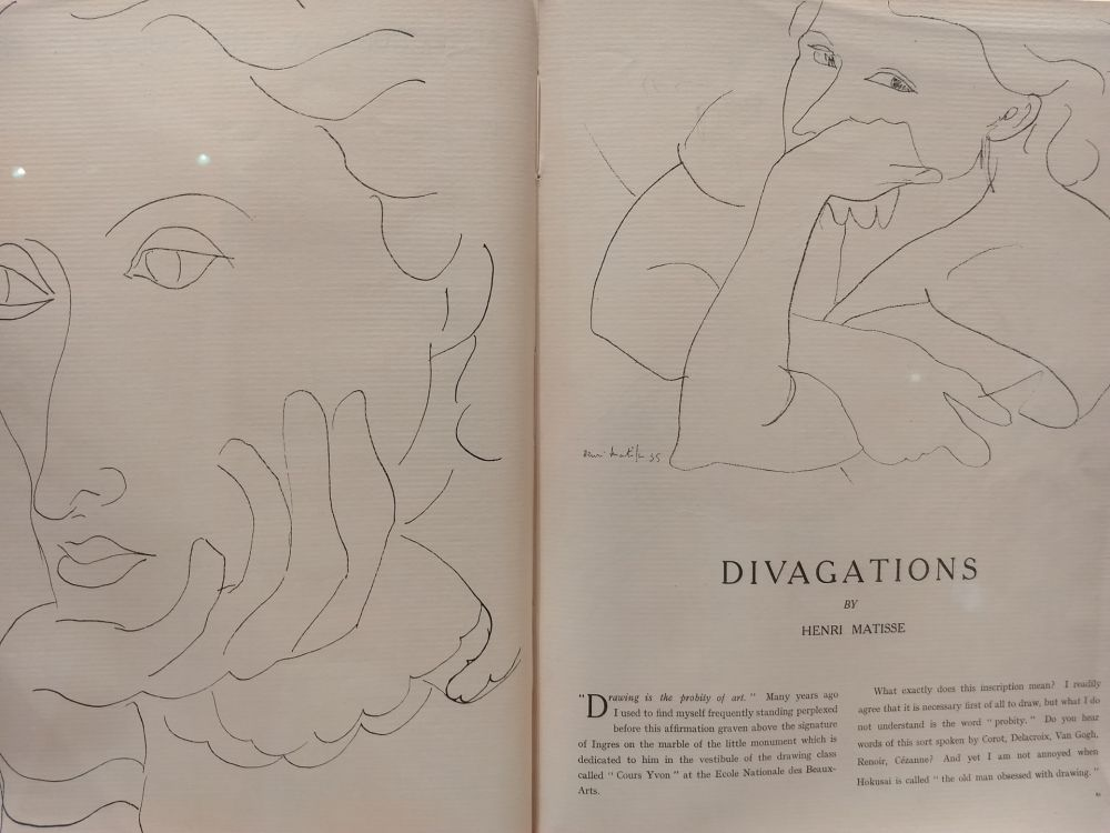 Illustrated Book Matisse - Verve no 1