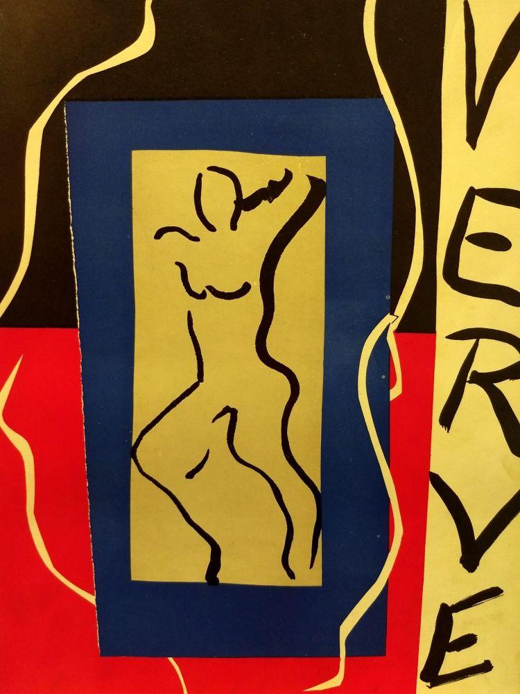 Illustrated Book Matisse - Verve no 1