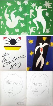 Illustrated Book Matisse - VERVE. Vol. IV, No. 13. DE LA COULEUR. La Chute d'Icare (1945).