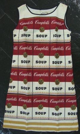Lithograph Warhol - VESTIDO SOPA CAMPBELL