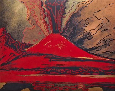 Screenprint Warhol - Vesuvius (FS II.365)