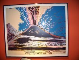 Screenprint Warhol - Vesuvius TP