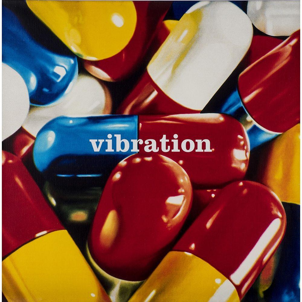 Screenprint Huart - Vibration