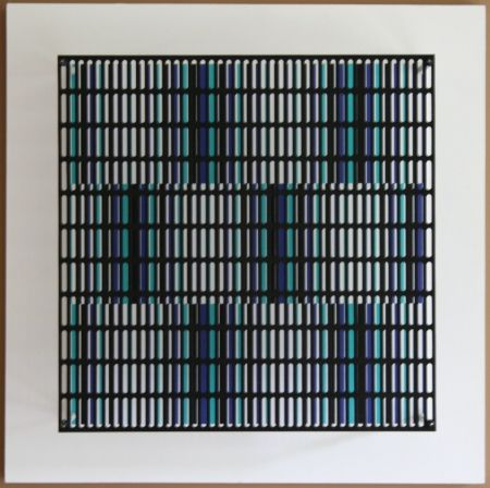 No Technical Asis - Vibration bandes noir, bleu et turquoise