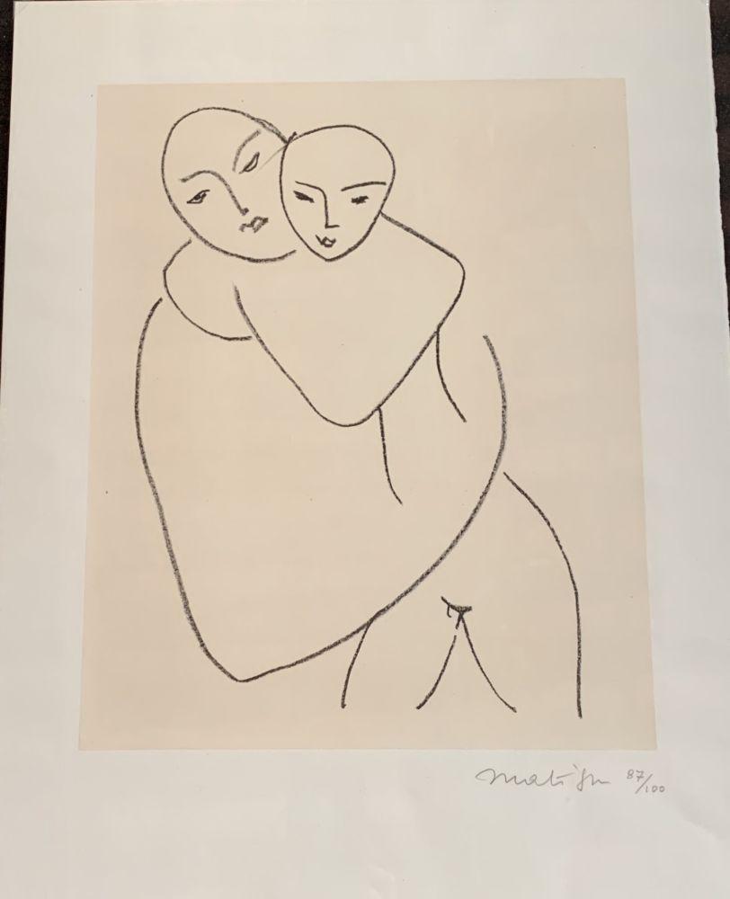 Lithograph Matisse - Vierge et l'enfant
