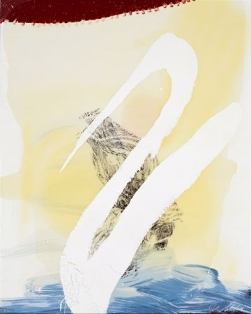 Screenprint Schnabel - View of Dawn from the Tropics-Allen(cordial love)