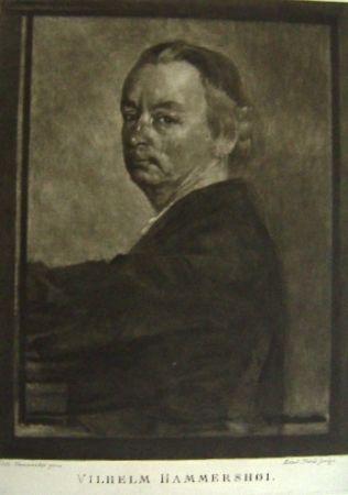 Mezzotint Ilsted - Vilhelm Hammershøi
