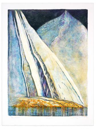 Lithograph Stornes - Ville Kufter