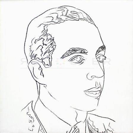 Screenprint Warhol - Vincente Minnelli