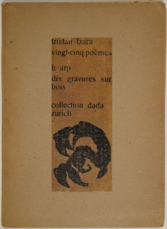 Illustrated Book Arp - Vingt-cinq poèmes
