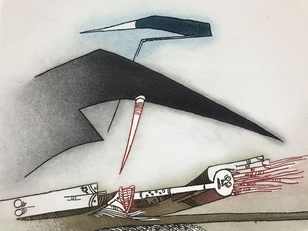 Etching And Aquatint Lam - Vingtième Parallèle Suite ( 20th Parallel Series )