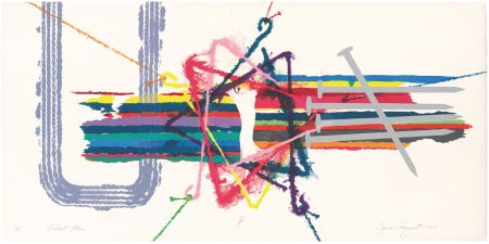 Lithograph Rosenquist - Violent Turn