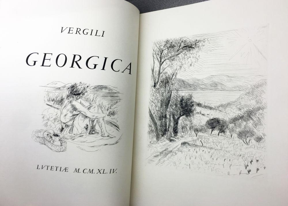 Illustrated Book De Segonzac - VIRGILE : LES GEORGIQUES - GEORGICA