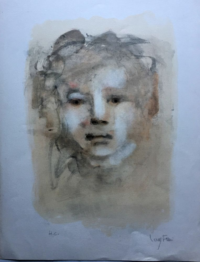 Lithograph Fini - Visage