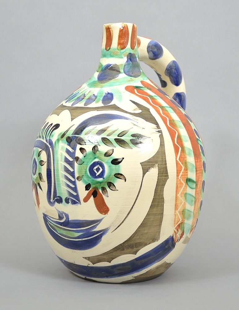 Ceramic Picasso - Visage aux yeux rieurs (Laughing Eyed Face), 1969