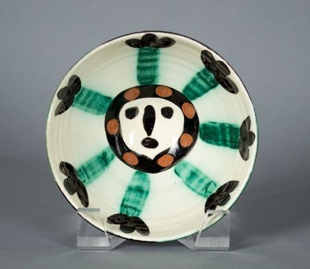 Ceramic Picasso - Visage ( Face), 1955