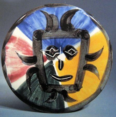 Ceramic Picasso - Visage n° 125