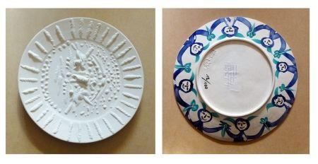 Ceramic Picasso - Visage tourmenté