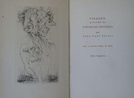 Illustrated Book Wols - Visages
