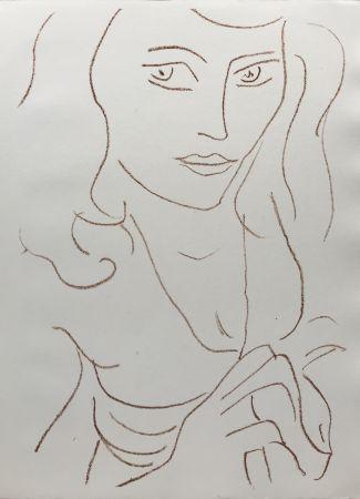 Lithograph Matisse - Visages I
