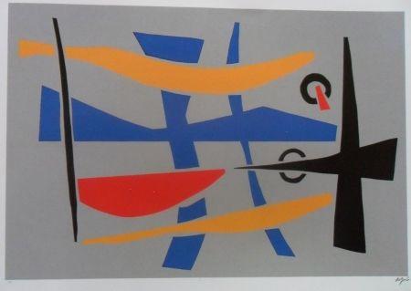 Screenprint Jacobsen - Visions Sculpturales II