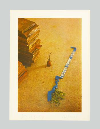 Lithograph Beuys - Vitex agnus castus