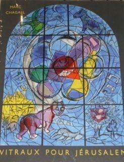 Illustrated Book Chagall - Vitraux de Jerusalem