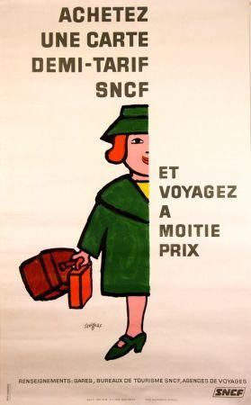 Lithograph Savignac - Vogagez à Moitié Prix